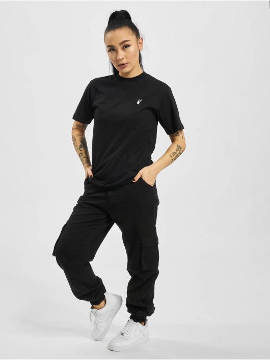 Off-White Camiseta Flock Arrow Casual negro