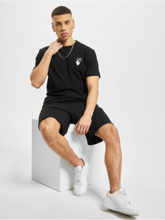 Off-White Camiseta Marker negro