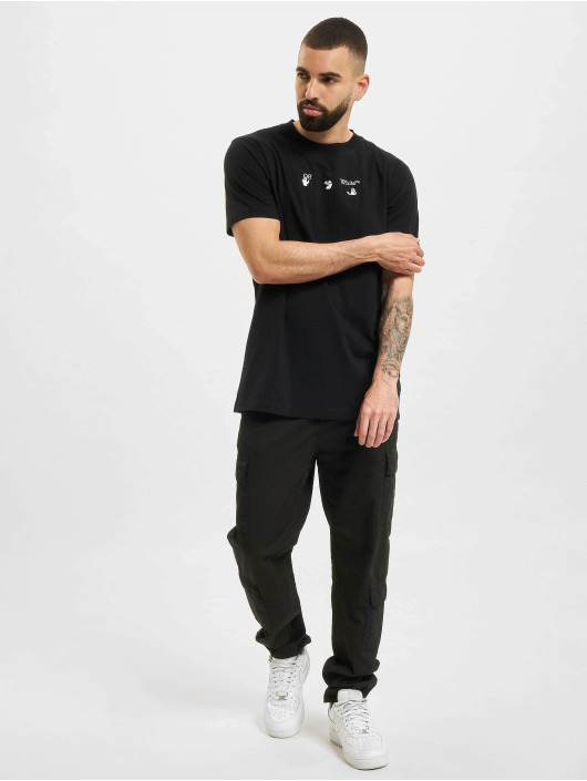 Off-White Camiseta Bolt Arrow S/S Slim negro