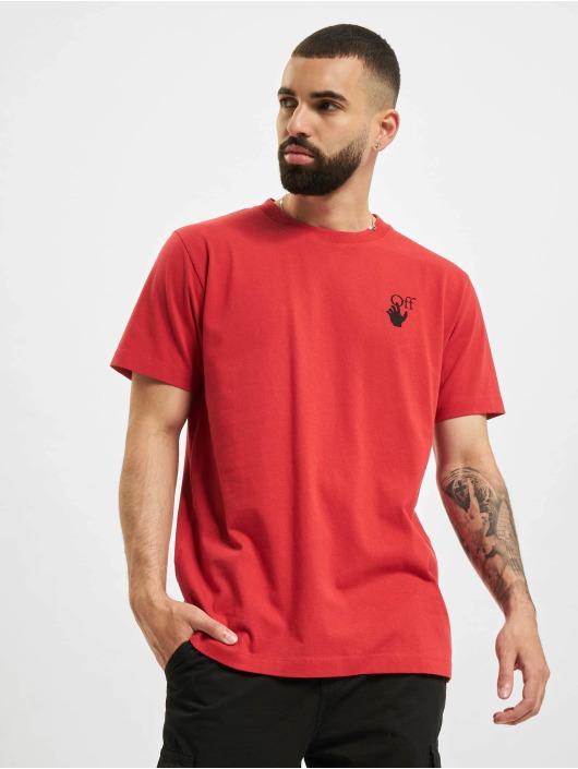 Off-White Camiseta Spray Marker rojo