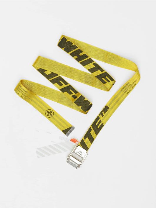 Off-White Cinturón 2.0 Industrial amarillo