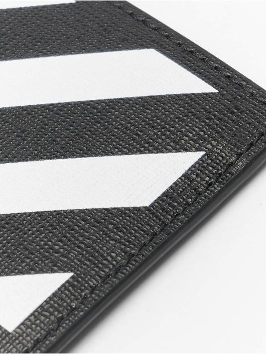 Off-White Geldbeutel Diag Cardholder schwarz