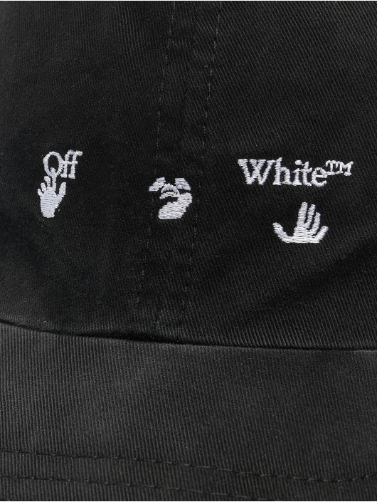 Off-White Gorra Snapback Logo Baseball negro