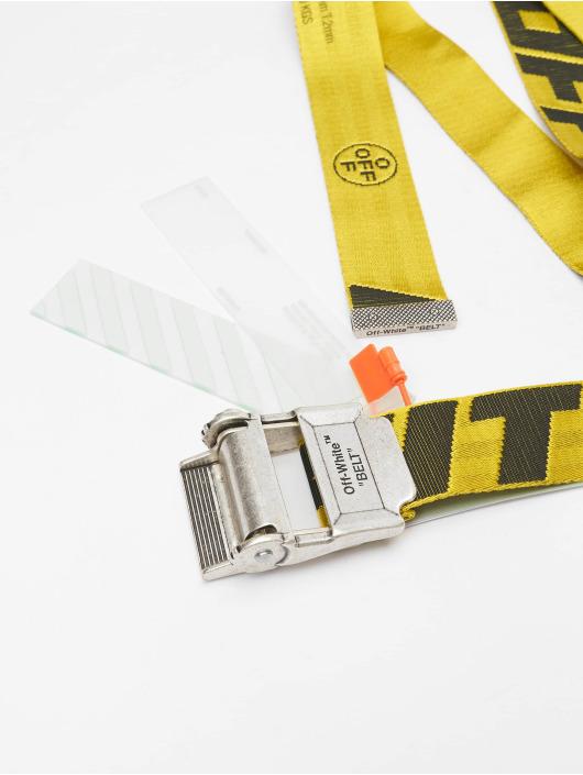 Off-White Gürtel 2.0 Industrial jaune