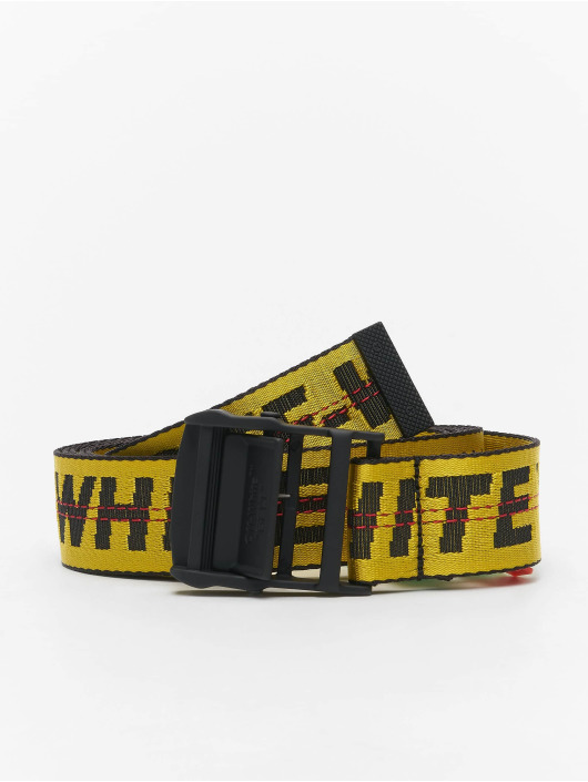 Off-White Gürtel Classic Industrial jaune