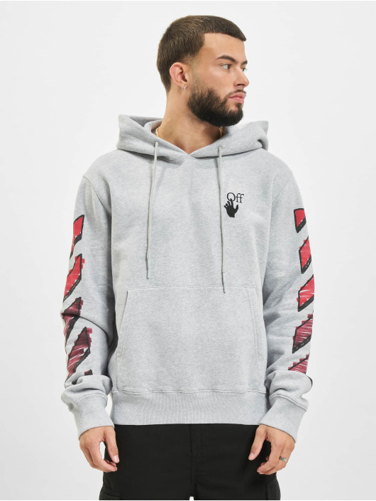 Off-White Hoodie Marker gray