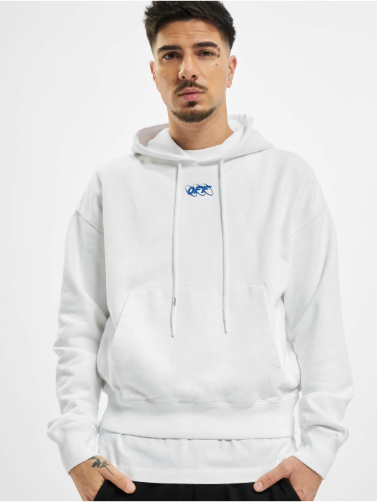 Off-White Hoodie Mirko First Over white