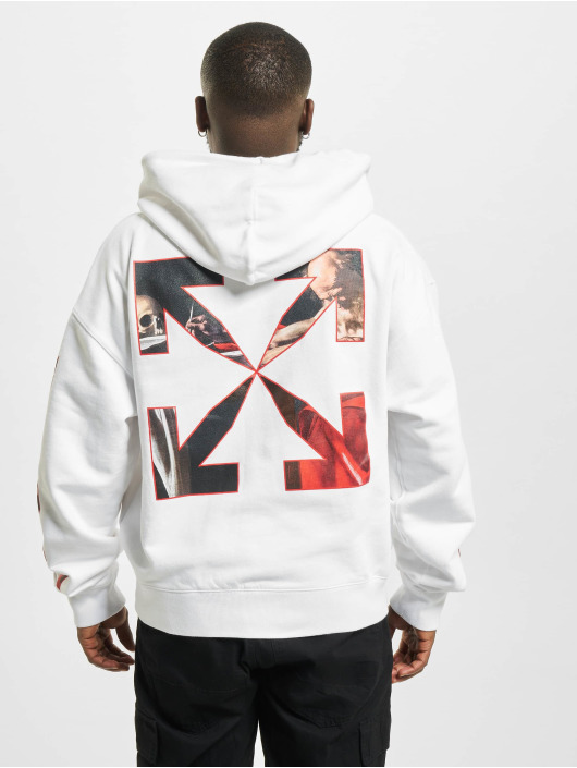 Off-White Hoodie Caravaggio Over white
