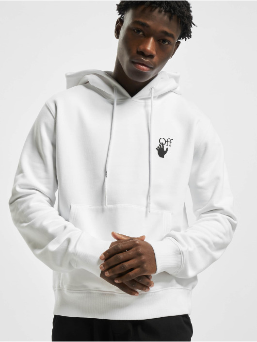 Off-White Hoodies Pascal Arrow bílý
