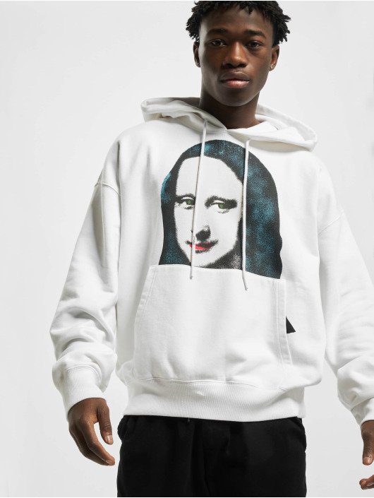 Off-White Hoodies Monalisa bílý