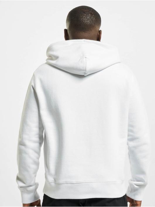 Off-White Hoodies Logo Slim hvid