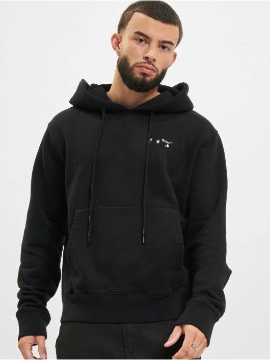 Off-White Hoody Logo schwarz