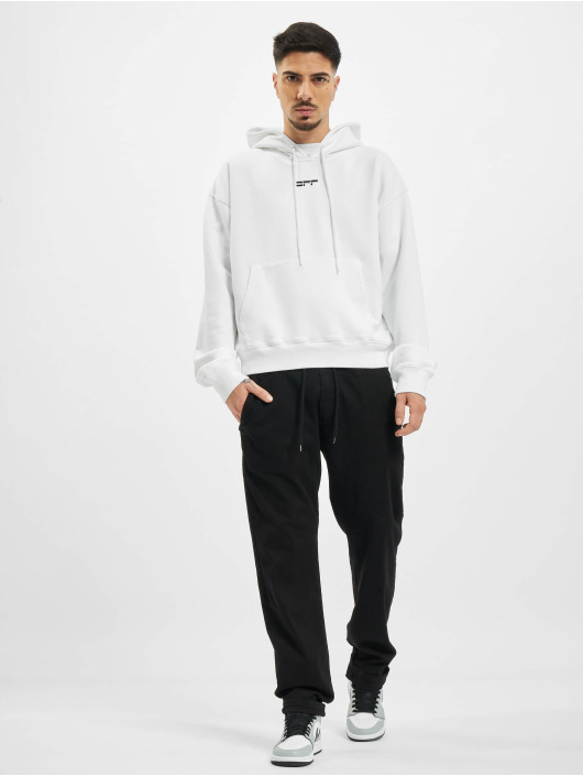 Off-White Hoody Masked Face weiß