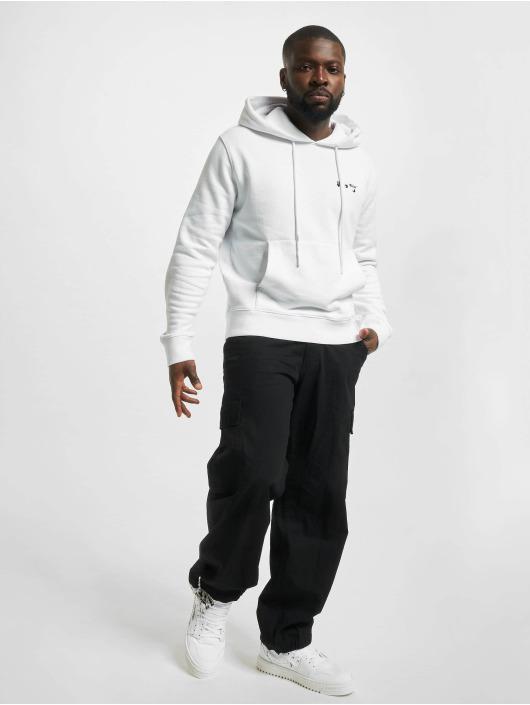 Off-White Hoody Logo Slim weiß
