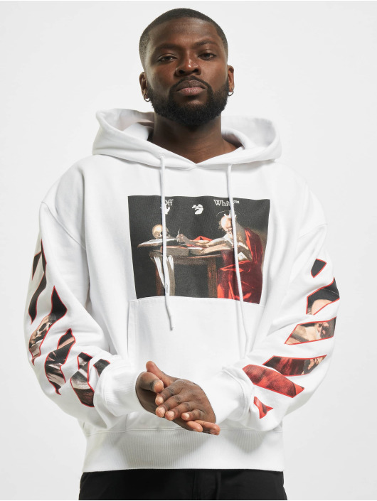 Off-White Hoody Caravaggio Over weiß