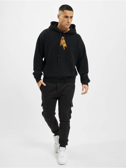 Off-White Hoody Pascal Skeleton Ove zwart