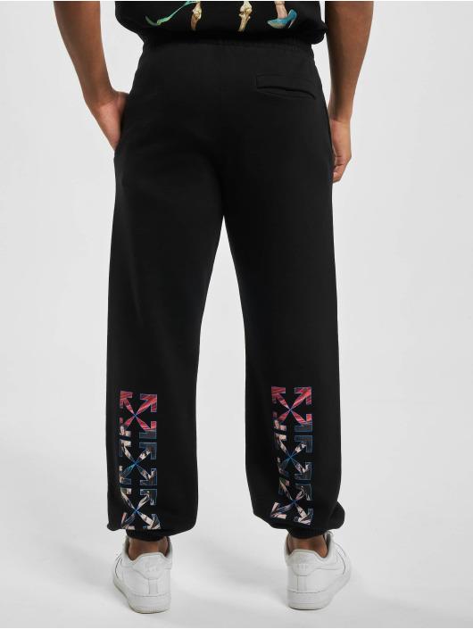 Off-White Jogging kalhoty Caravag Paint čern