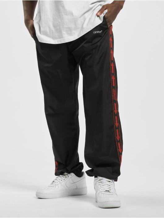Off-White Jogging kalhoty Booish Ow Nylon čern