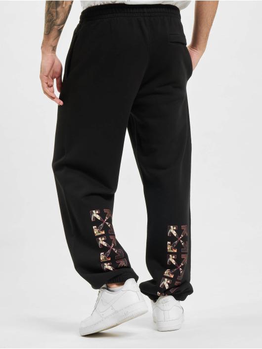 Off-White Jogging kalhoty Sprayed Caravag Slim čern