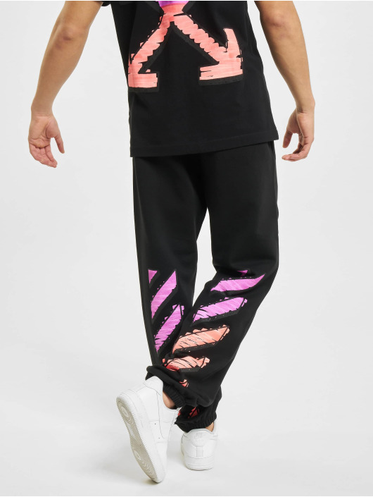 Off-White joggingbroek Marker zwart