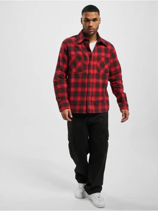 Off-White Košile Check Flannel červený