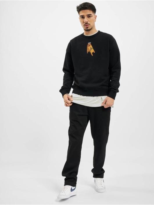 Off-White Maglietta a manica lunga Pascal Skeleton Slim nero