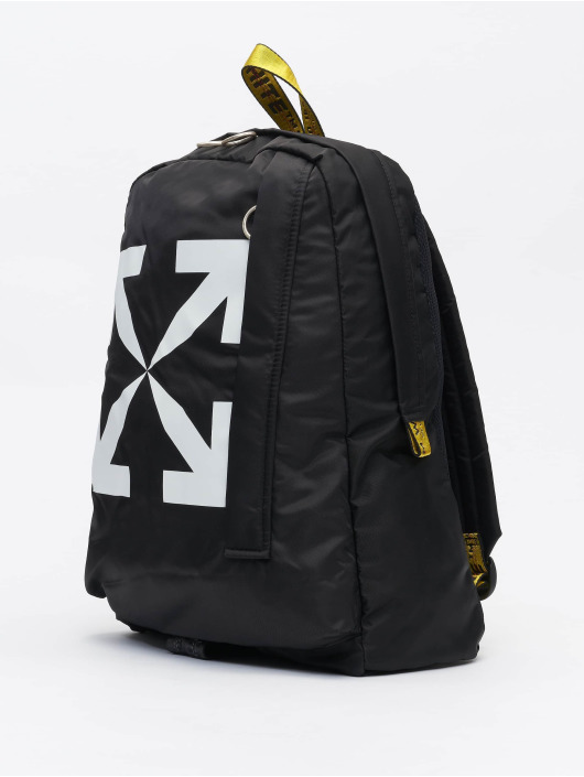 Off-White Mochila ARROW EASY // Warning: Different return policy – item can not be returned negro