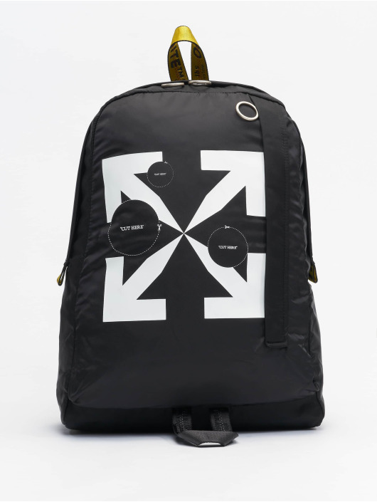 Off-White Mochila Cut Here Easy // Warning: Different return policy – item can not be returned negro