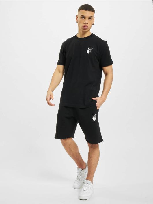 Off-White Pantalón cortos Marker negro