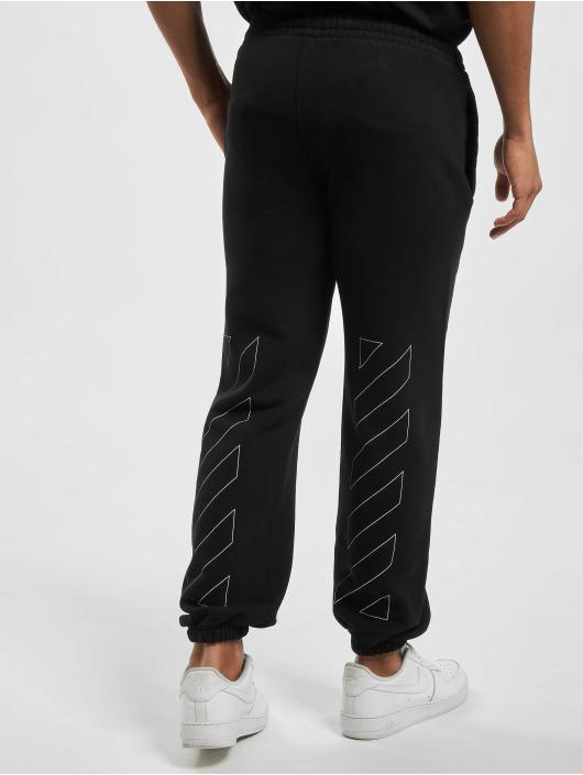 Off-White Pantalón deportivo Diag Ow Logo Shorten negro