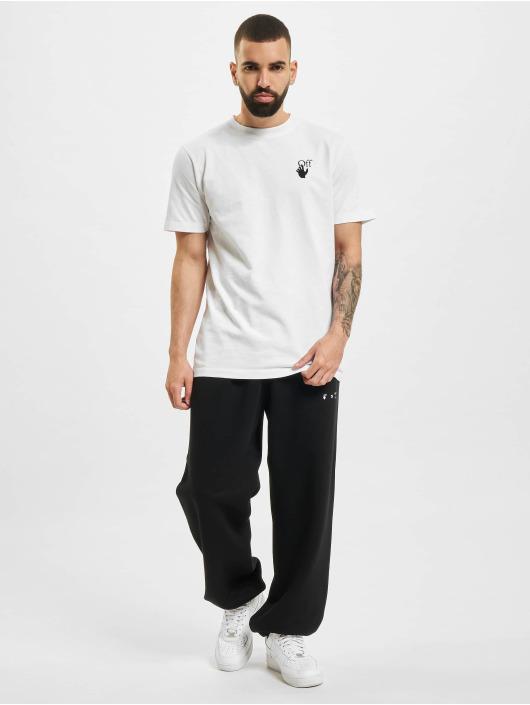Off-White Pantalón deportivo Sprayed Caravag Slim negro
