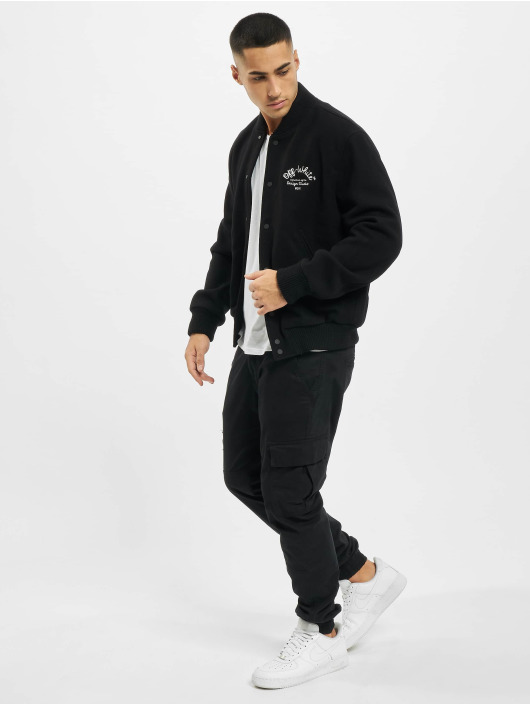 Off-White Pilotjakke Arrow Varsity svart