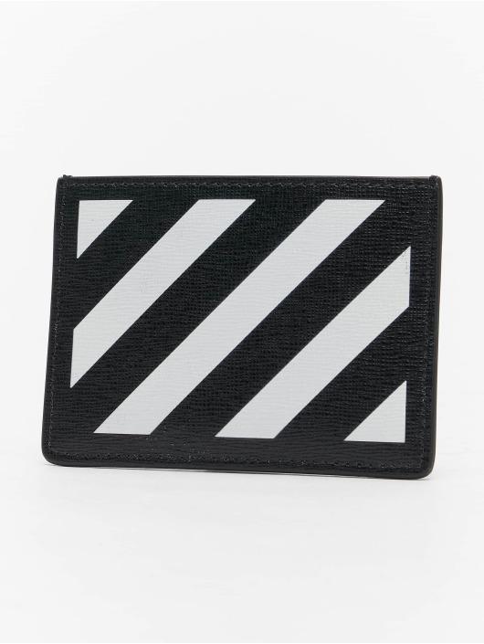 Off-White Portefeuille Diag Cardholder noir
