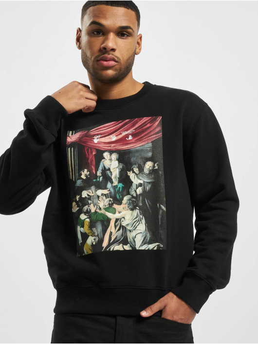 Off-White Pullover Caravag Painting Slim black