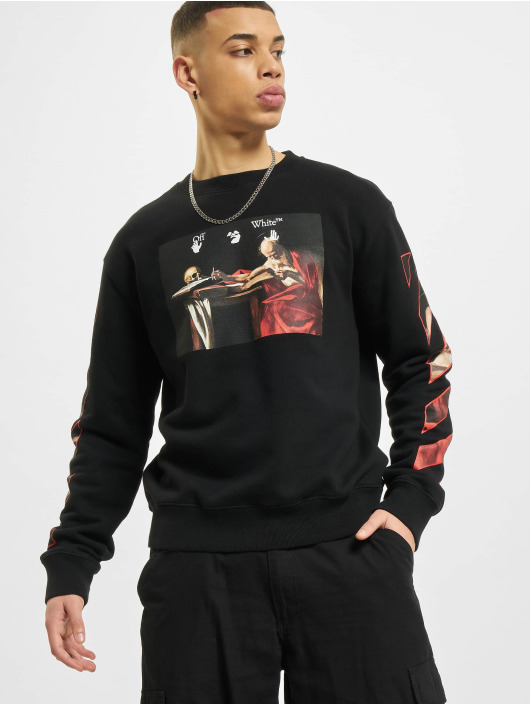 Off-White Pullover Caravaggio Slim black