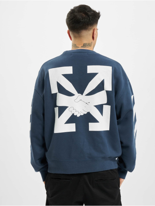Off-White Pullover Diag Agreement Over blau