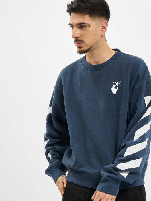 Off-White Pullover Diag Agreement Over blue