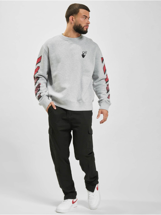 Off-White Pullover Marker grey