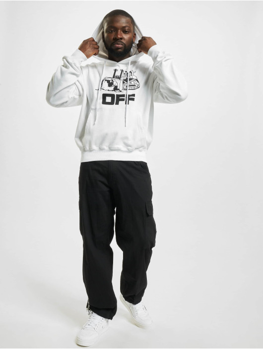 Off-White Pullover World Caterpillar weiß