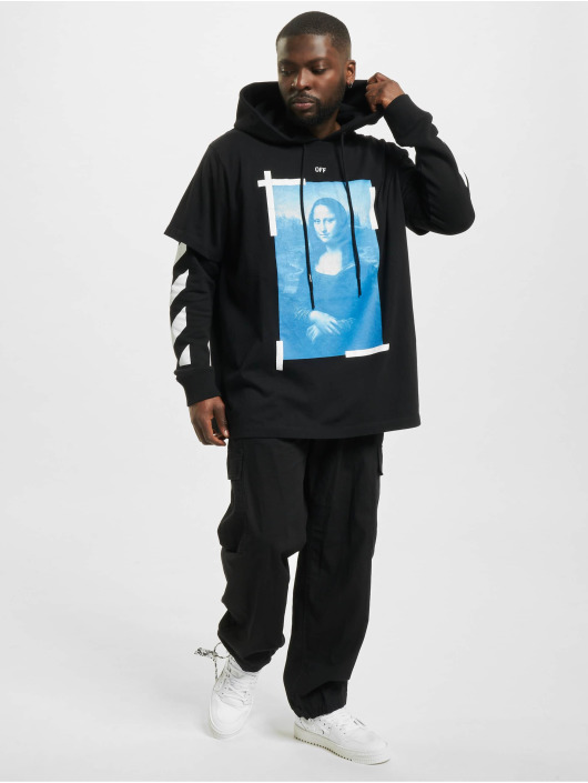 Off-White Pulóvre Monal Double Layer èierna
