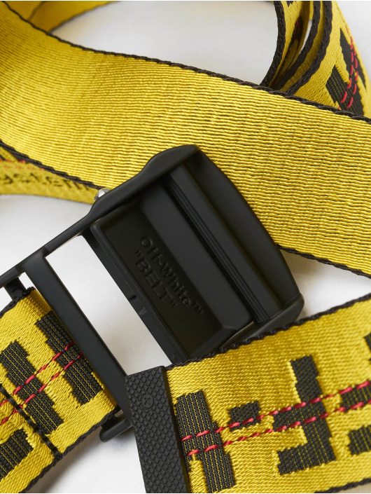 Off-White riem Classic Industrial geel