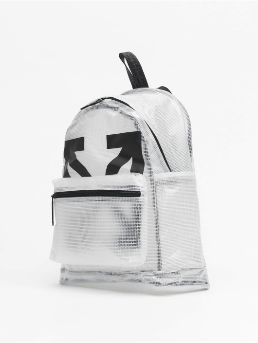 Off-White Rucksack Arrow PVC // Warning: Different return policy – item can not be returned blanc