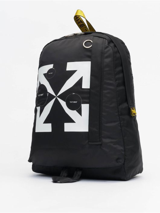 Off-White Rucksack Cut Here Easy // Warning: Different return policy – item can not be returned noir