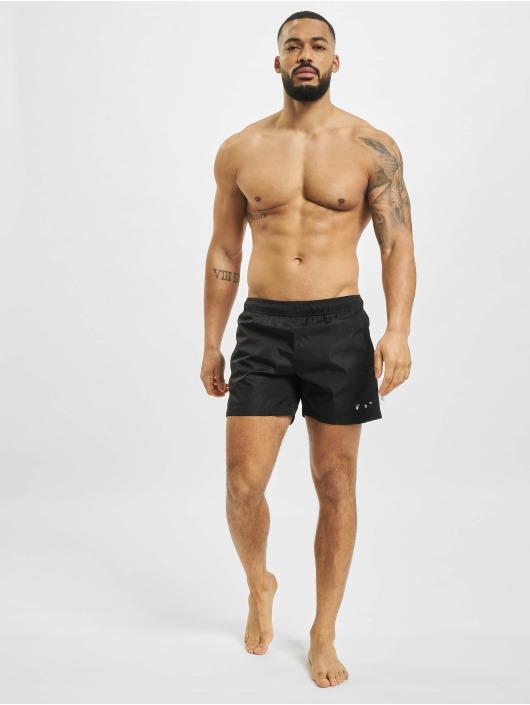 Off-White Short de bain Logo noir