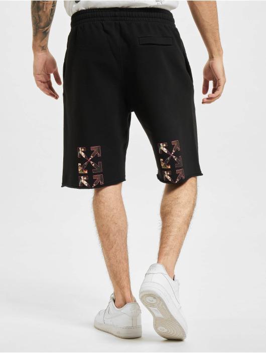 Off-White Shorts Sprayed Caravaggio nero