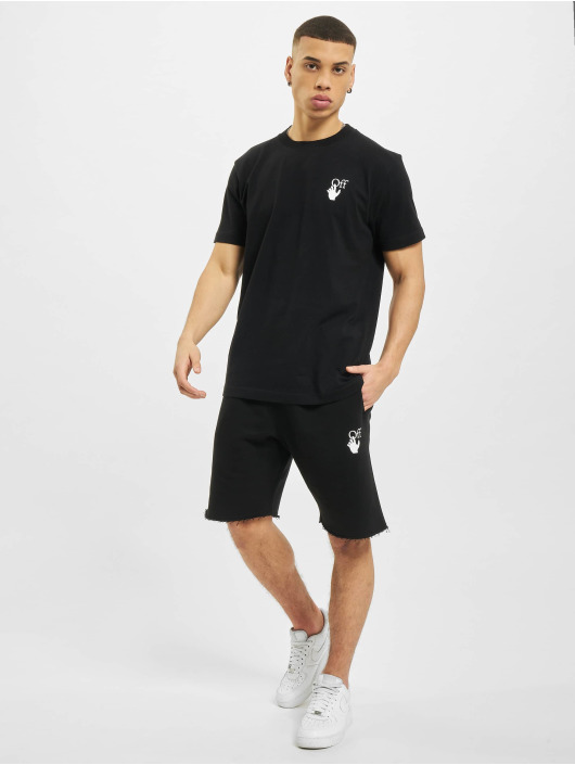 Off-White Shorts Marker schwarz