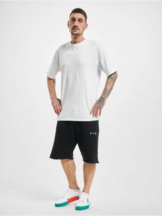 Off-White Shorts Logo schwarz
