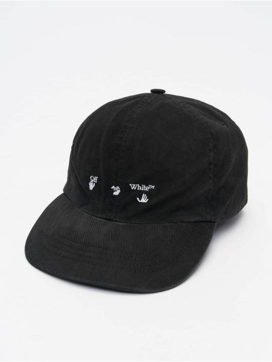 Off-White Snapback Cap Logo Baseball black