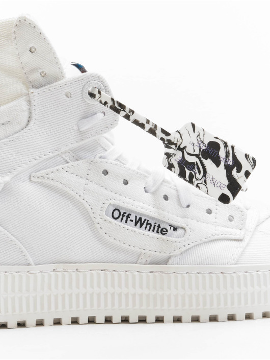 Off-White Sneaker Court Canvas bianco