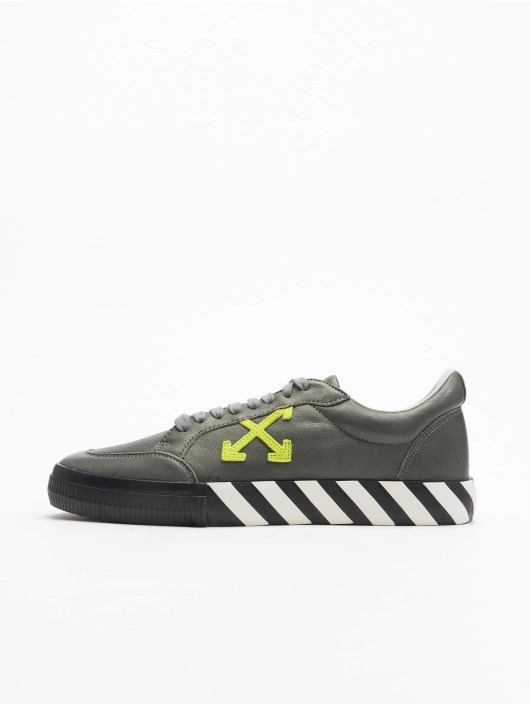 Off-White Sneaker Low Vulc Substainable Leather grigio